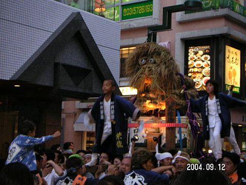 奥澤神社例大祭大蛇
