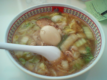 おいしいラーメン with 煮卵