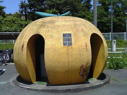 東都筑駅前のトイレ