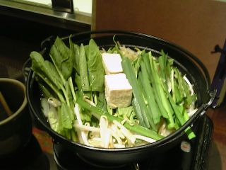 ちゃんこ鍋 before