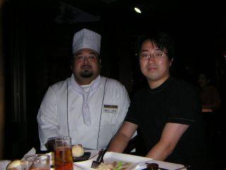 料理長と一緒