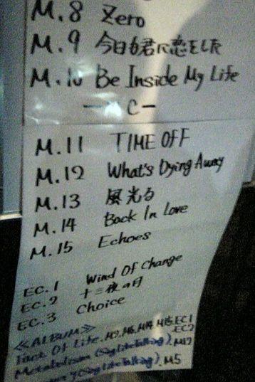 曲目リスト