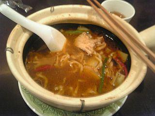 豚バラ肉の麻辣麺