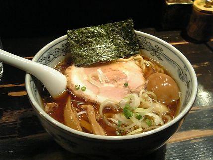 あじ玉らー麺(あっさり)