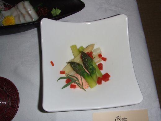 アスパラのサラダ