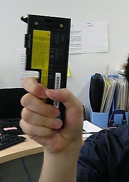 ThinkPad X60のバッテリー