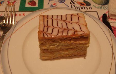 マロンのショートケーキ