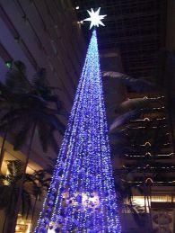 クリスマスツリー(吹き抜け)