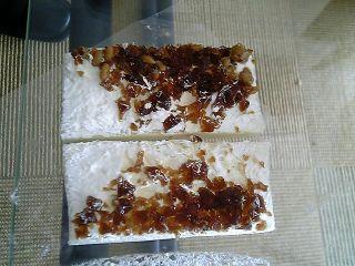 納豆コーヒーゼリーサンド