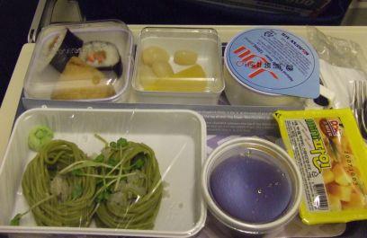 機内食(大韓航空)