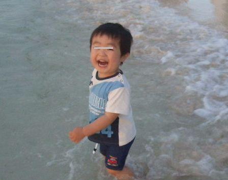 海にムッハー!(*゚∀゚)=3