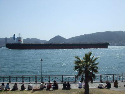関門海峡でぼーっ