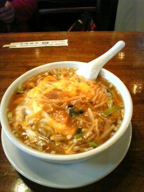九龍麺(酸辣湯麺)